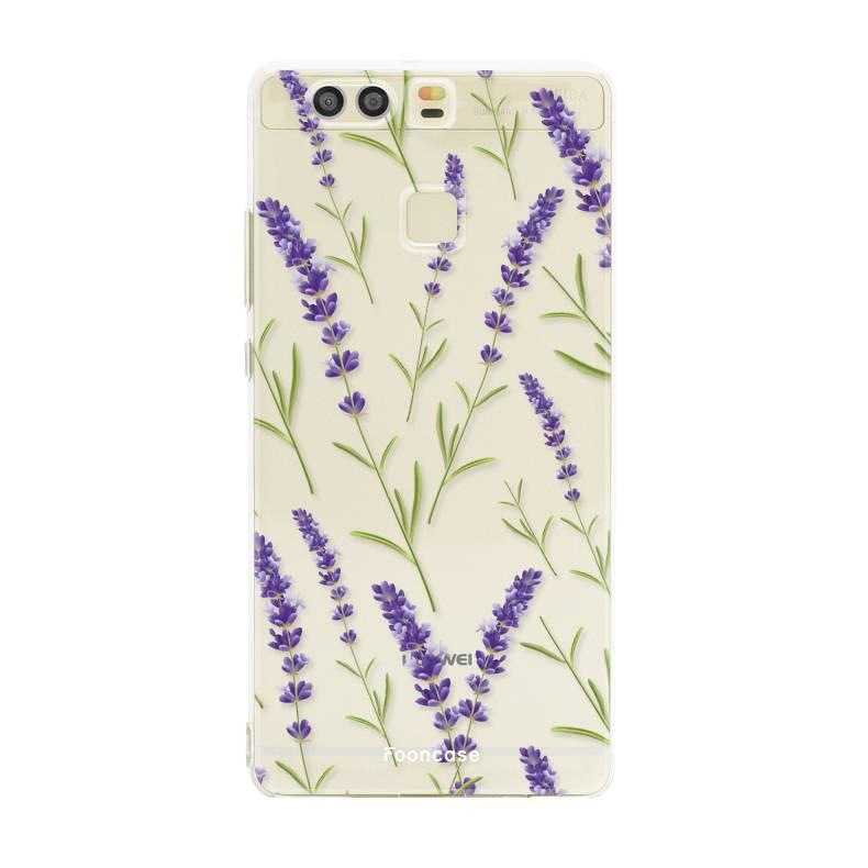 Huawei Huawei P9 - Purple Flower