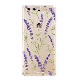 Huawei Huawei P10 - Purple Flower