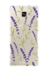Samsung Samsung Galaxy A3 2017 - Purple Flower