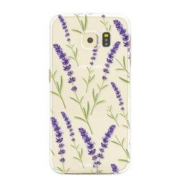Samsung Samsung Galaxy S6 Edge- Purple Flower