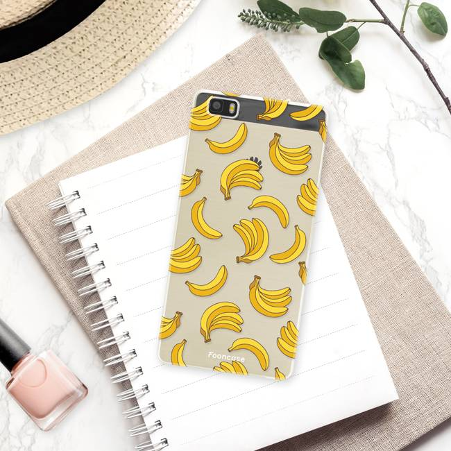 FOONCASE Huawei P8 Lite 2016 Cover - Bananas