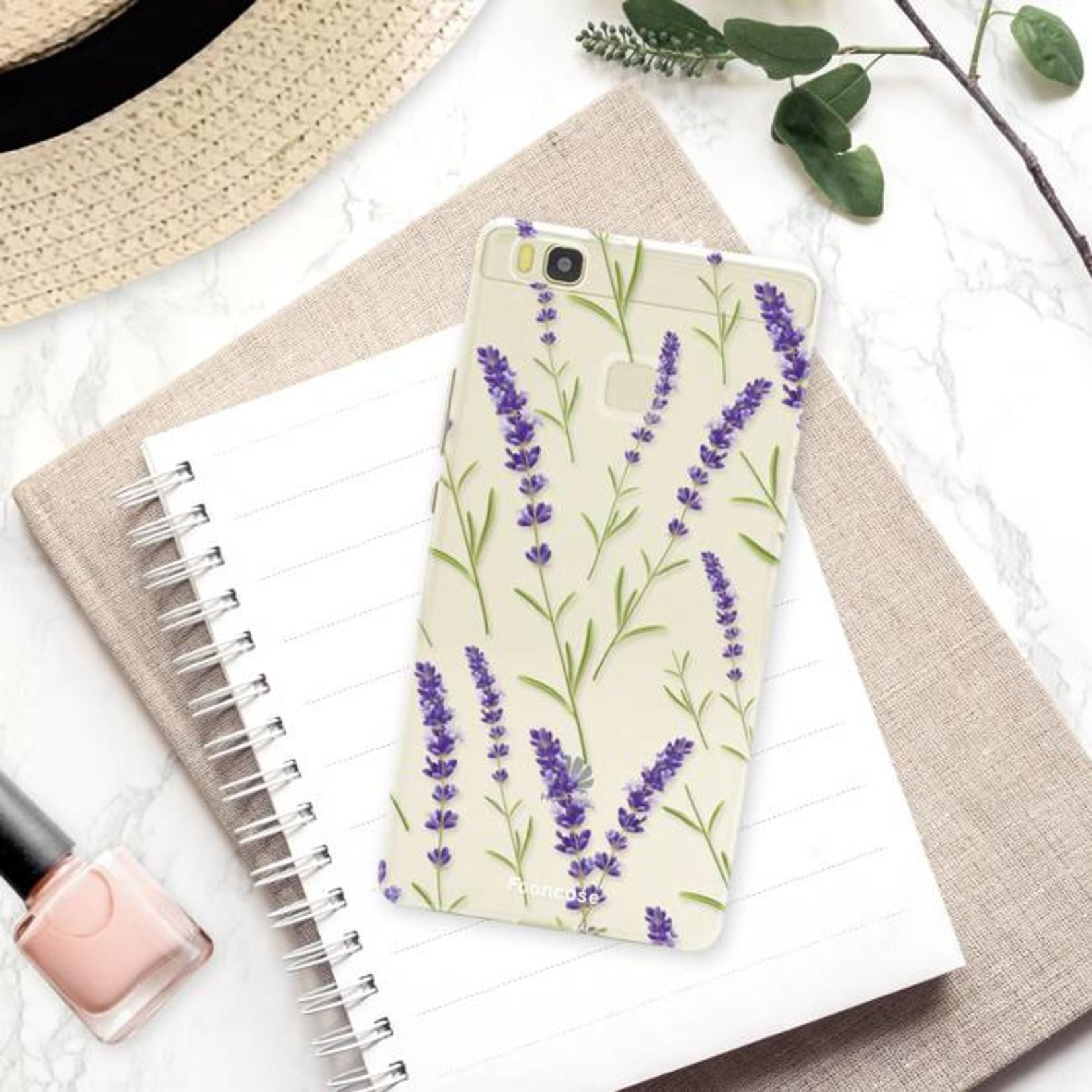 FOONCASE Huawei P9 Lite - Purple Flower