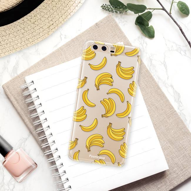 FOONCASE Huawei P10 Cover - Bananas