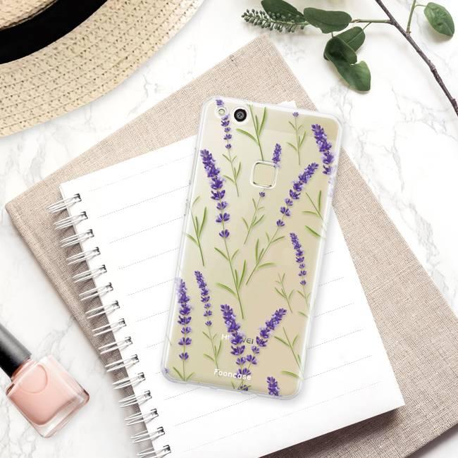 FOONCASE Huawei P10 Lite - Purple Flower