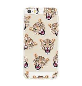FOONCASE Iphone SE - Cheeky Leopard