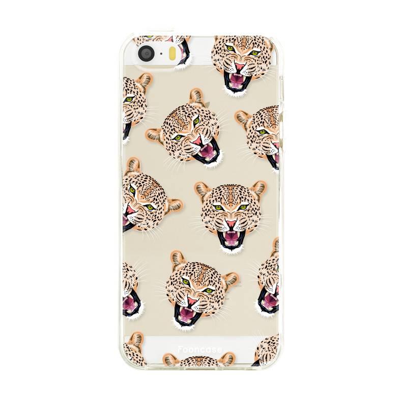 FOONCASE Iphone SE Handyhülle - Cheeky Leopard