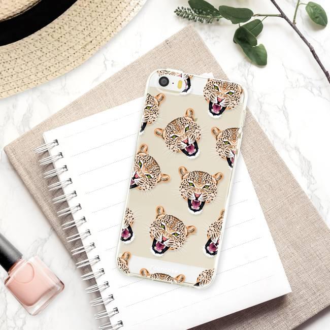 Apple Iphone 5 / 5S Handyhülle - Cheeky Leopard