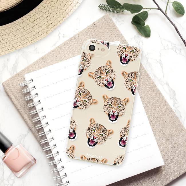 Apple Iphone 7 hoesje - Cheeky Leopard