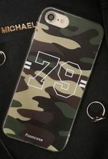 Apple Iphone 8 hoesje - Camouflage