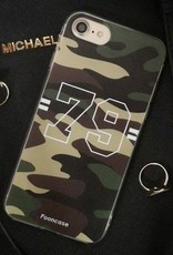 FOONCASE iPhone 6 Plus hoesje TPU Soft Case - Back Cover - Camouflage