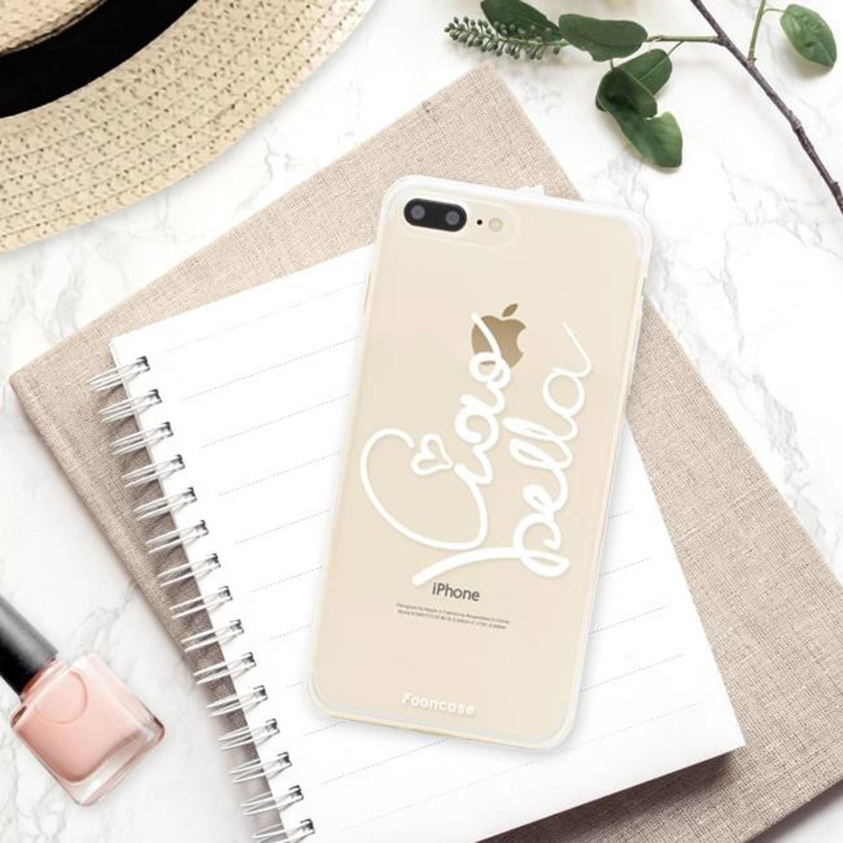 FOONCASE iPhone 8 Plus hoesje TPU Soft Case - Back Cover - Ciao Bella!