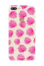 FOONCASE Iphone 8 Plus Handyhülle - Rosa Blätter