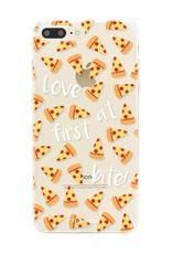 Apple Iphone 8 Plus hoesje - Pizza