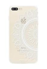 FOONCASE iPhone 8 Plus hoesje TPU Soft Case - Back Cover - Mandala / Ibiza