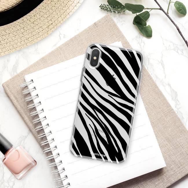 FOONCASE Iphone X Handyhülle - Zebra