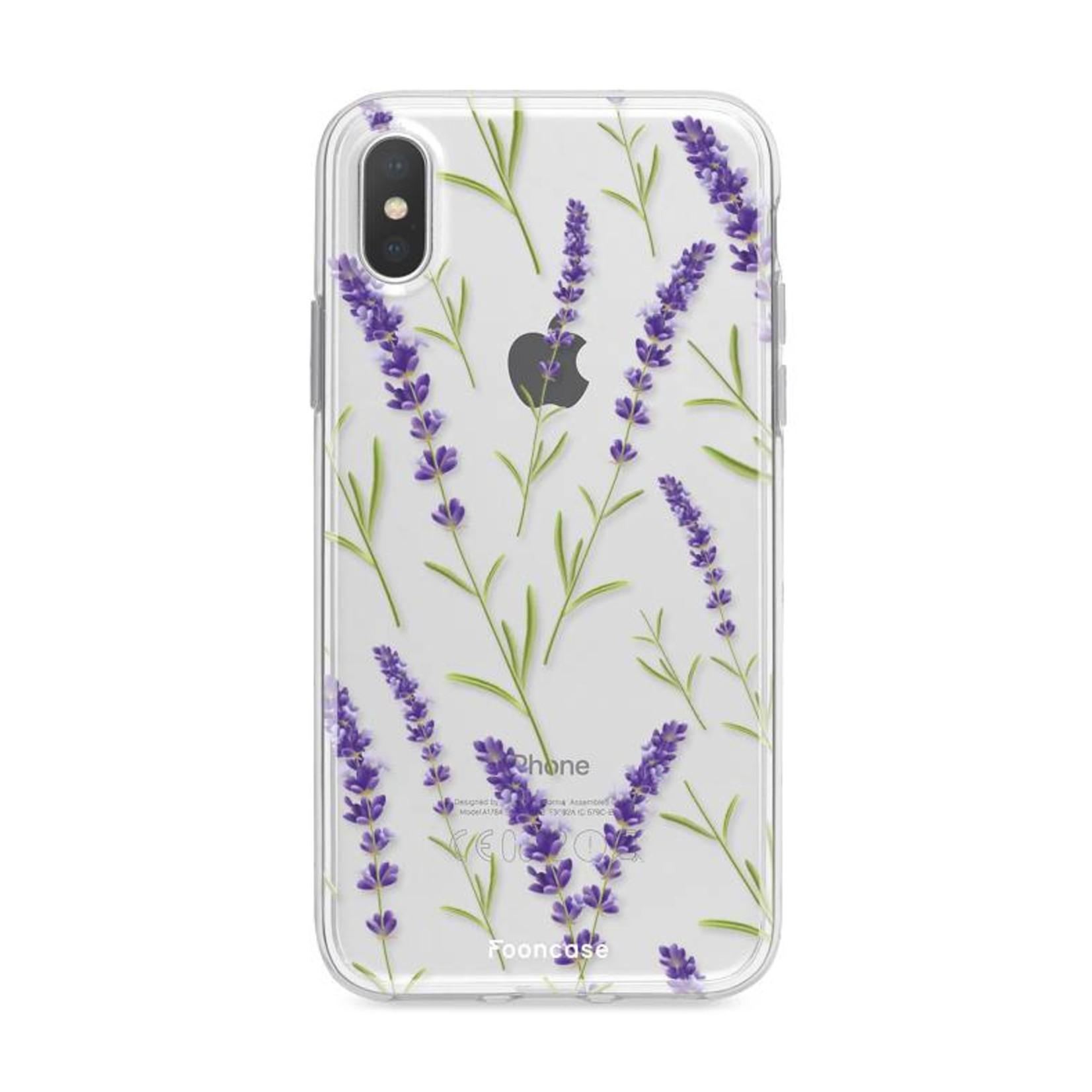 FOONCASE Iphone X - Purple Flower