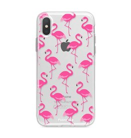 FOONCASE Iphone X - Flamingo