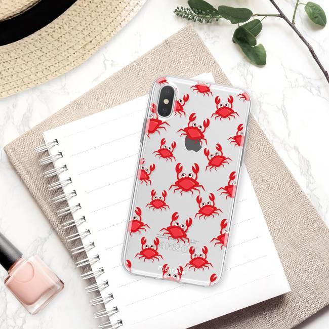 Apple Iphone X Handyhülle - Krabben