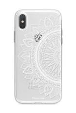 FOONCASE iPhone X hoesje TPU Soft Case - Back Cover - Mandala / Ibiza