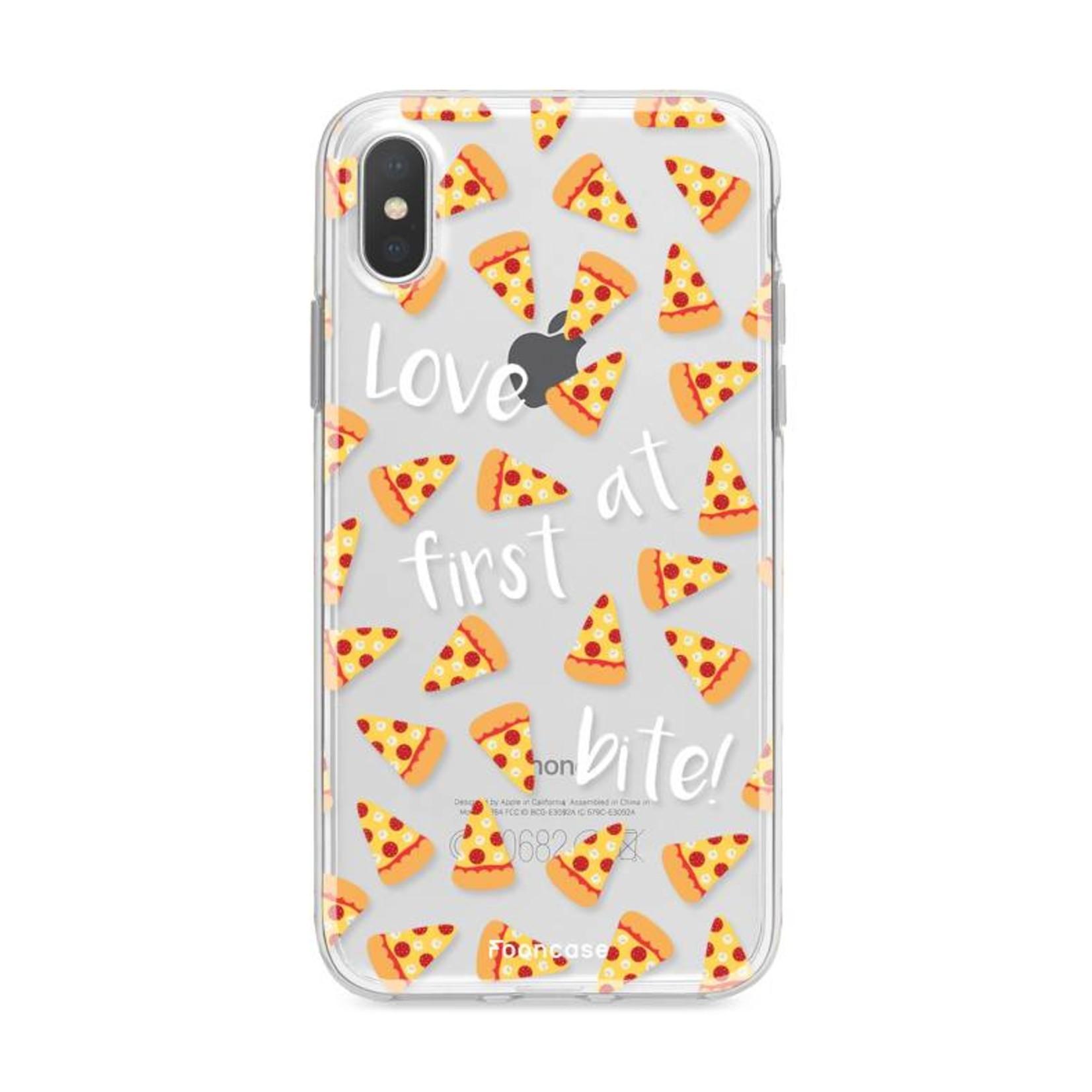 FOONCASE Iphone X Handyhülle - Pizza