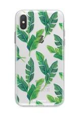 Apple Iphone X Handyhülle - Bananenblätter