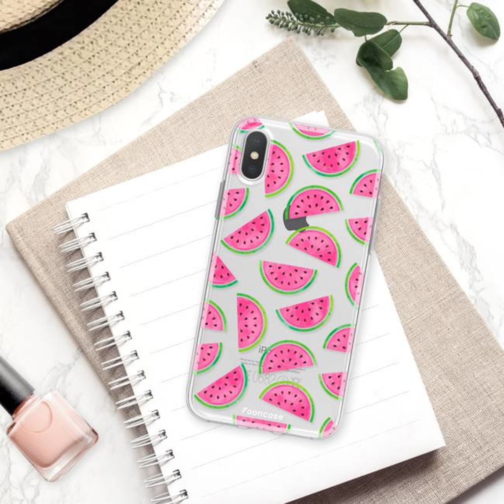 FOONCASE Iphone X Handyhülle - Wassermelone