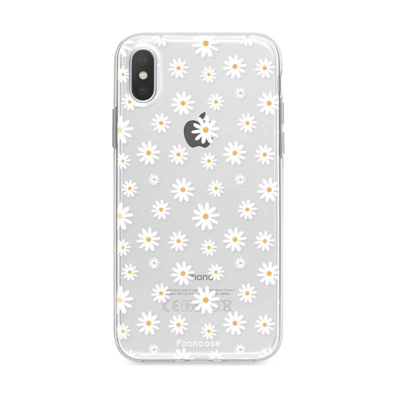 FOONCASE Iphone X Handyhülle - Gänseblümchen