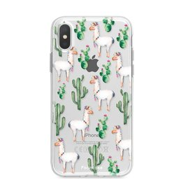 FOONCASE Iphone X - Lama