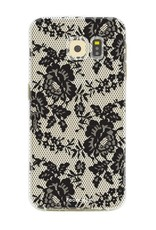 FOONCASE Samsung Galaxy S6 hoesje TPU Soft Case - Back Cover - Secret / Kant