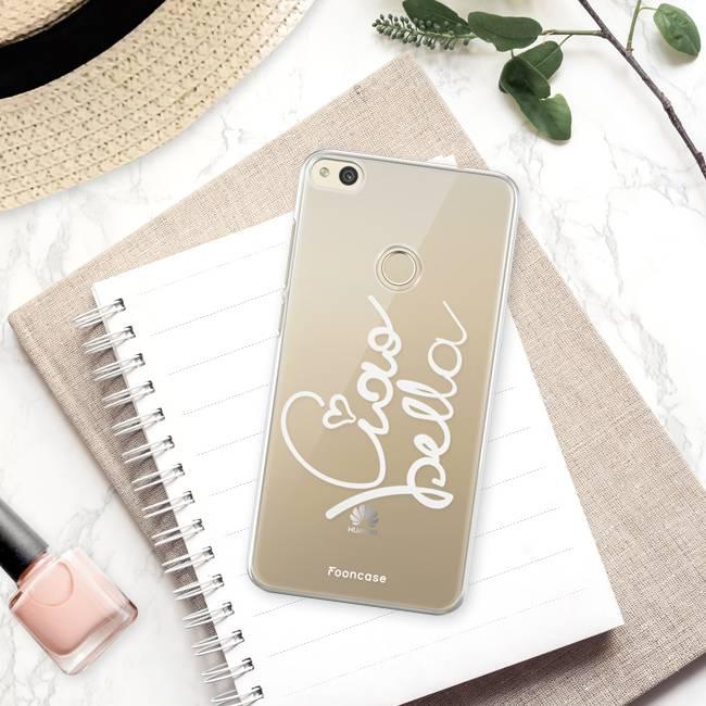 FOONCASE Huawei P8 Lite 2017 hoesje TPU Soft Case - Back Cover - Ciao Bella!