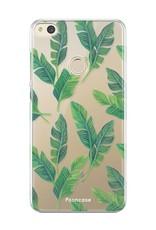 FOONCASE Huawei P8 Lite 2017 Handyhülle - Bananenblätter