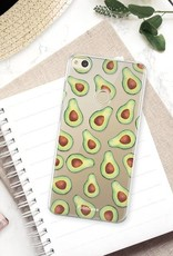 FOONCASE Huawei P8 Lite 2017 hoesje TPU Soft Case - Back Cover - Avocado