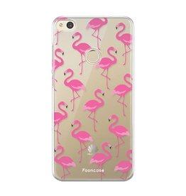 FOONCASE Huawei P8 Lite 2017 - Flamingo