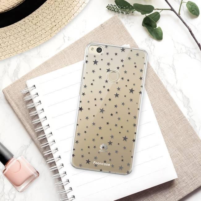 FOONCASE Huawei P8 Lite 2017 Handyhülle - Sterne