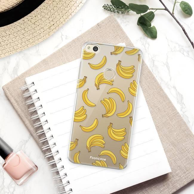 FOONCASE Huawei P8 Lite 2017 Handyhülle - Bananas