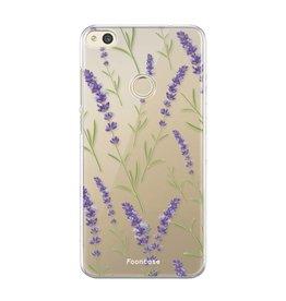 FOONCASE Huawei P8 Lite - Purple Flower