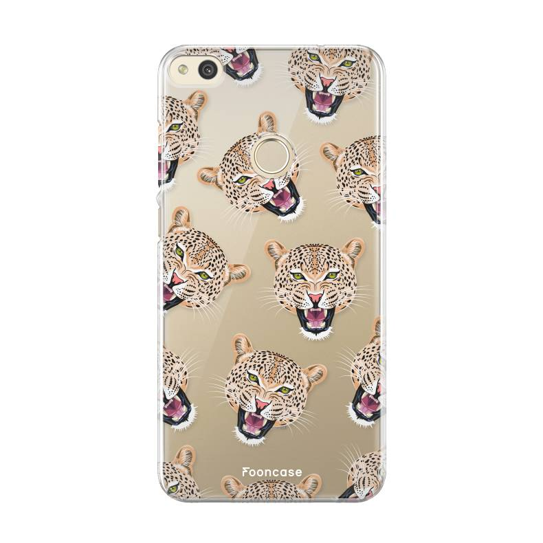 FOONCASE Huawei P8 Lite 2017 Cover - Cheeky Leopard