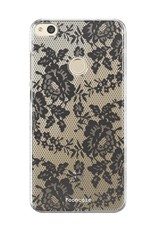 FOONCASE Huawei P8 Lite 2017 hoesje TPU Soft Case - Back Cover - Secret / Kant