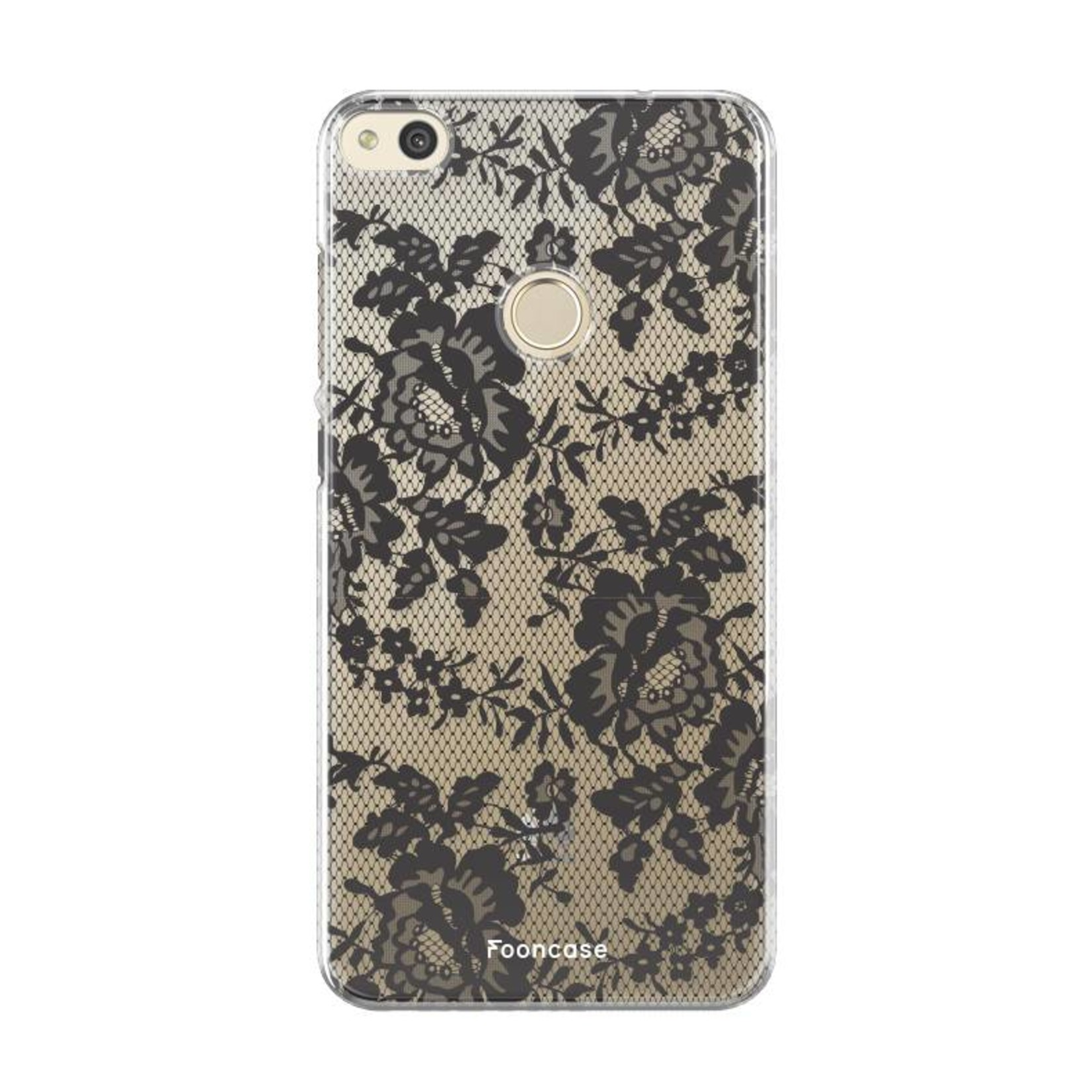 FOONCASE Huawei P8 Lite 2017 hoesje TPU Soft Case - Back Cover - Secret / Kant