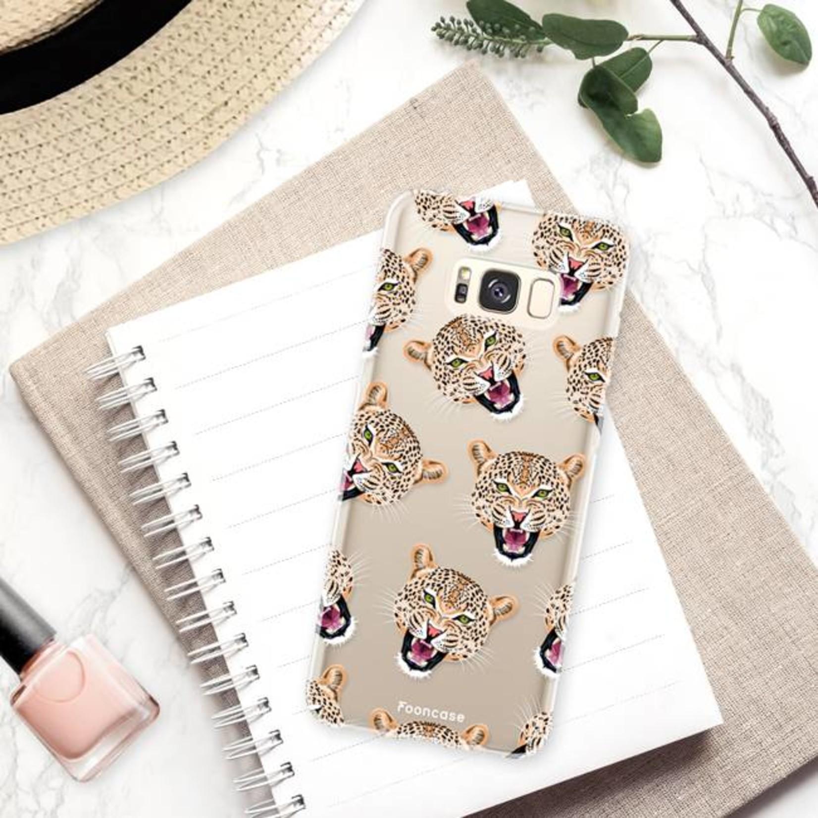 FOONCASE Samsung Galaxy S8 Handyhülle - Cheeky Leopard