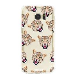 FOONCASE Samsung Galaxy S7 Edge - Cheeky Leopard