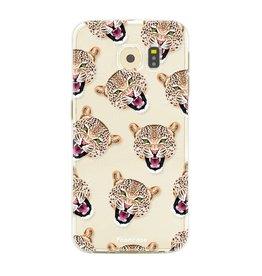 FOONCASE Samsung Galaxy S6 Edge - Cheeky Leopard