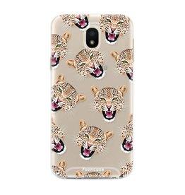 FOONCASE Samsung Galaxy J5 2017 - Cheeky Leopard
