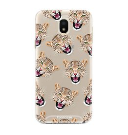FOONCASE Samsung Galaxy J3 2017 - Cheeky Leopard