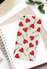 FOONCASE iPhone 6 / 6S hoesje TPU Soft Case - Back Cover - Love Pop