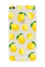 FOONCASE iPhone 6 / 6S hoesje TPU Soft Case - Back Cover - Lemons / Citroen / Citroentjes