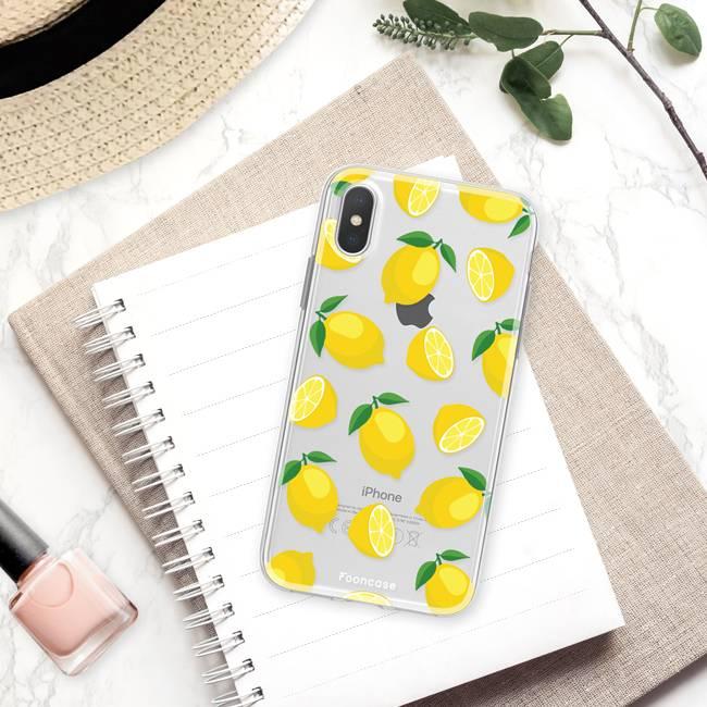 Apple Iphone X hoesje - Lemons