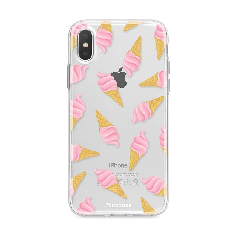 Apple Iphone X hoesje - Ice Ice Baby