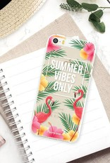 FOONCASE iPhone 5 / 5S hoesje TPU Soft Case - Back Cover - Summer Vibes Only