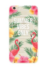 FOONCASE iPhone 6 / 6S hoesje TPU Soft Case - Back Cover - Summer Vibes Only